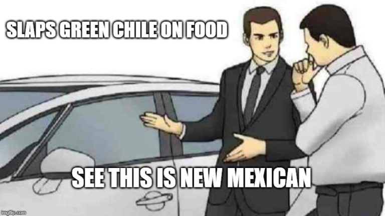 Green Chile on Everything