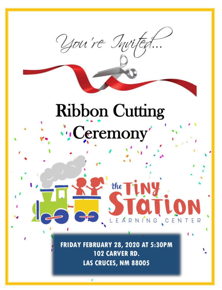 Ribbon Cutting Event for The Tiny Station!