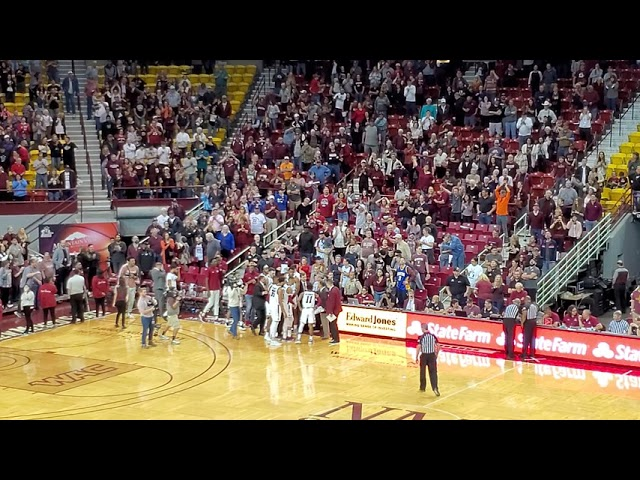 Aggies Get Win Over Utah Valley In Dramatic Finish